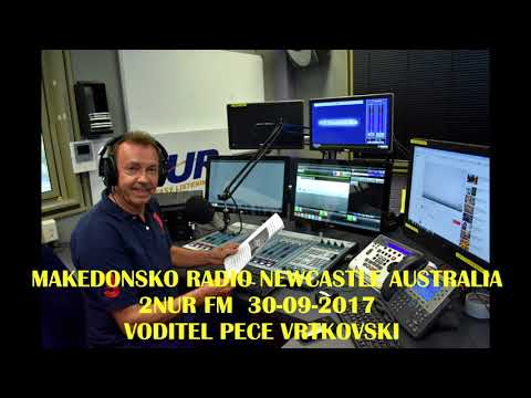 MAKEDONSKO RADIO 2NUR NEWCASTLE AUSTRALIA 30-09-2017