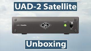 Universal Audio UAD-2 Satellite Thunderbolt 3 Unboxing