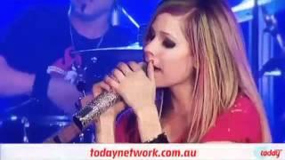 Avril Lavigne   Sk8er Boi Live 2DayFm World Famous Rooftop