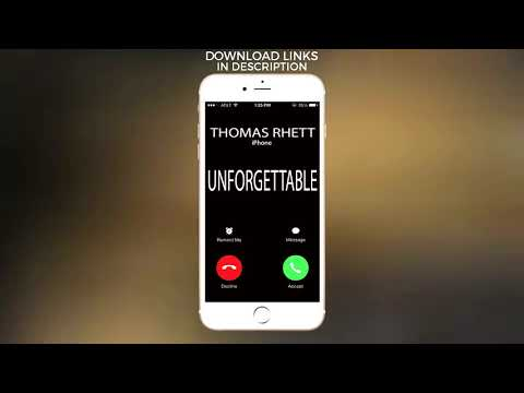 Unforgettable Ringtone - Thomas Rhett