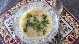 Mantar çorbası. Грибной суп. Турецкая кухня.