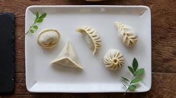 만두 빚기 필수 영상! 5가지 모양으로 만들기 : 5 Ways to Fold Dumplings [아내의 식탁]