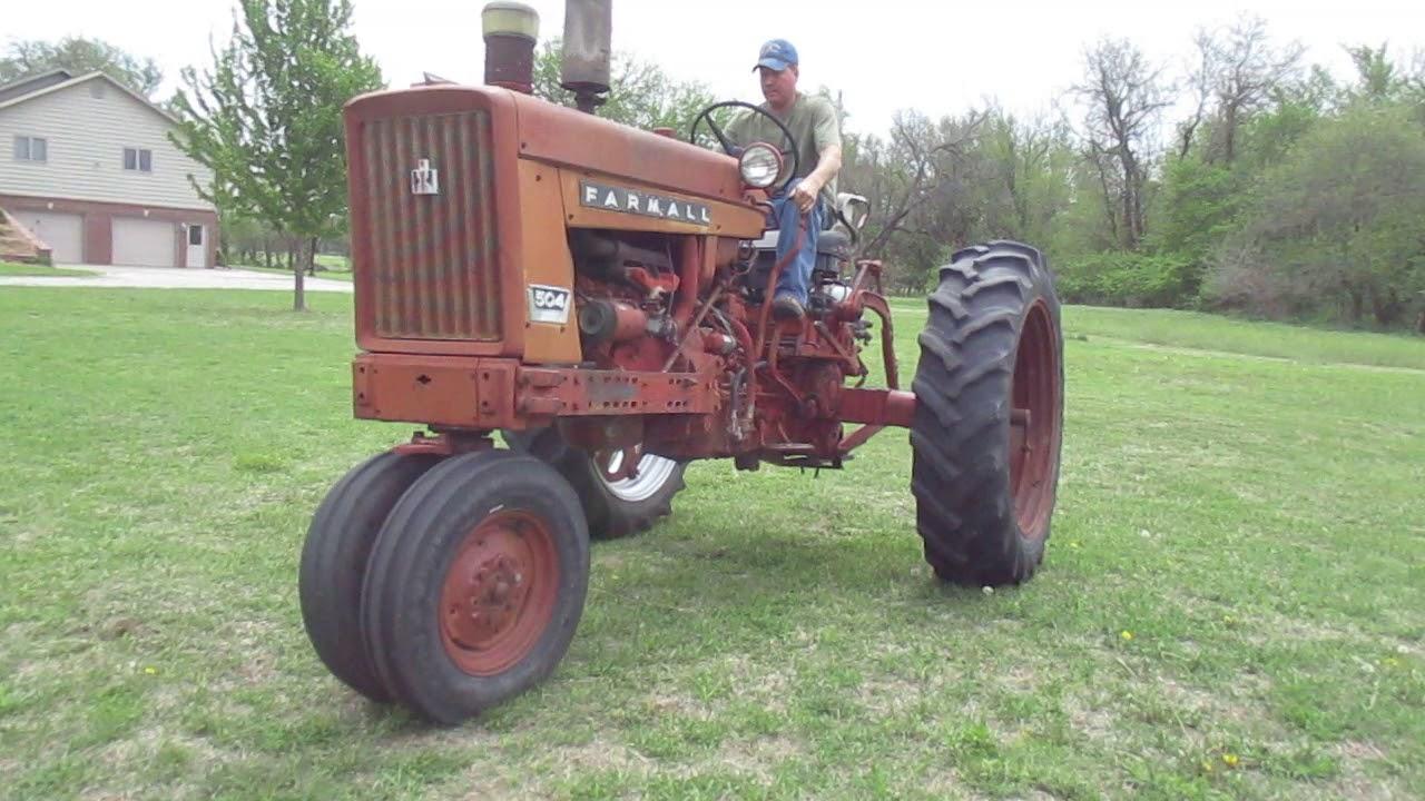 1962 Ihc 504 Farmall 2wd Tractor W  3 Pt Hitch  Live Pto