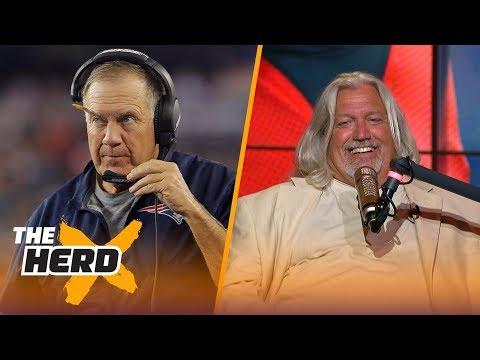 Rob Ryan talks Rex Ryan, players kneeling, Dallas Cowboys, the Raiders and Bill Belichick | THE HERD