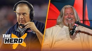 Rob Ryan talks Rex Ryan, players kneeling, Dallas Cowboys, the Raiders and Bill Belichick | THE HERD