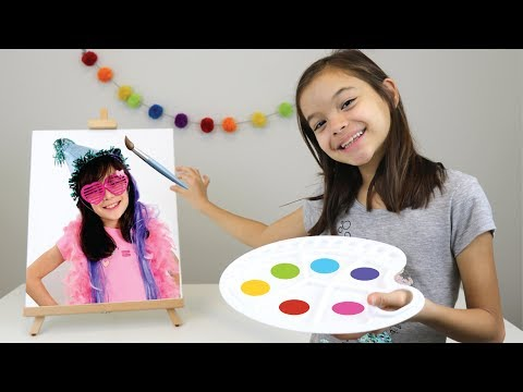 DESAFIO PINTANDO YOUTUBER (Ft. Canal da Lelê) PAINT EACH OTHER CHALLENGE