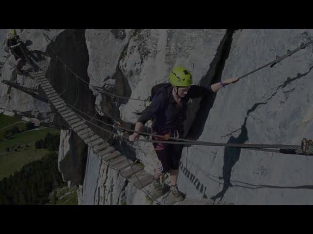 Via Ferrata Yves Pollet-Villard - Aravis - Haute Savoie - Alps - France
