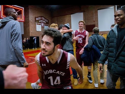 2018 Bates College vs. Colby Men's Basketball Highlights