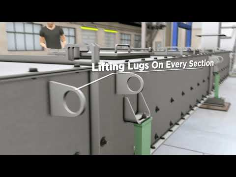 Drag Chain Conveyors - CDM Systems, Inc