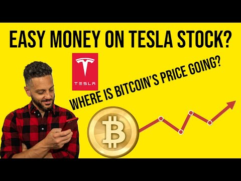 Can You Make Easy Money With TESLA Stock? Bitcoin Price Analysis