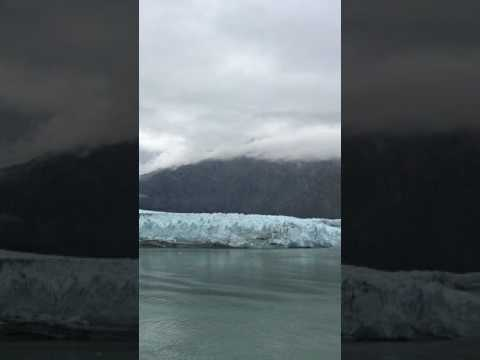 Massive glacier break off in Alaska!