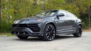 The Lamborghini Urus SUPER-SUV REVIEW | TEST DRIVE