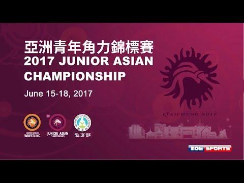 ::DAY4 Final Mat A :: 2017 Junior Asian Wrestling Championship 亞洲青年角力錦標賽