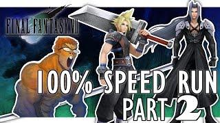 Final Fantasy VII 100% Speedrun(25:21:08) Part 2