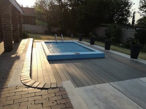 Building a new swimming pool in a old one