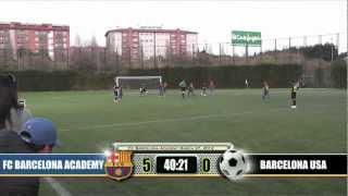 Q3 fc barcelona academy benjamin a vs. california state u10 champion (part 3 of 4)