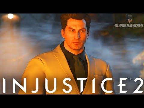 "PLAYING RANKED WITH BRUCE WAYNE!! - Injustice 2 ""Batman"" Bruce Wayne Premier Skin Gameplay"