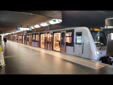 Brussels Metro premetro and tram STIB MIVB Bruxelles