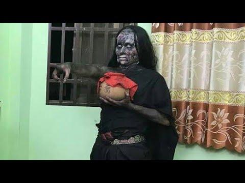 OMG ! Horror film में भूत बनीं इस Actress के अंदर सचमुच घुस गई आत्मा !