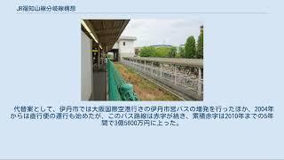 JR福知山線分岐線構想