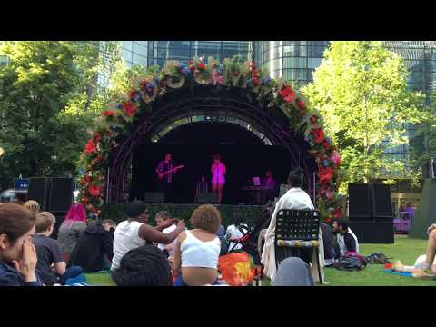 Chelsea Blues - Canary Wharf Fest '19 - Crazy Cover LIVE
