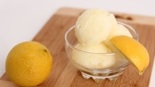 Homemade Lemon Sorbet Recipe - Laura Vitale - Laura In The Kitchen Episode 612