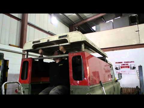 Land Rover Defender Pop Top Camper Style Conversion Youtube