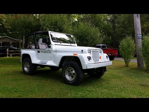 part 2 1992 jeep wrangler renegade final assembly with. Cars Review. Best American Auto & Cars Review