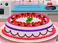 Cooking Strawberry Cake Cartoon Game for Girls