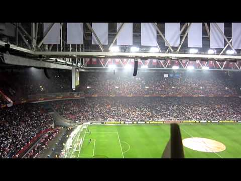 Flags at Amsterdam Arena