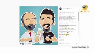 Սերժ Թանկյանն Instagram-ի էջում հրապարակել է իր և վարչապետ Նիկոլ Փաշինյանի ծաղրանկարը