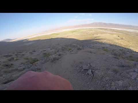 Hiking up Black Rock Mountain - Gerlach, Nevada - YouTube