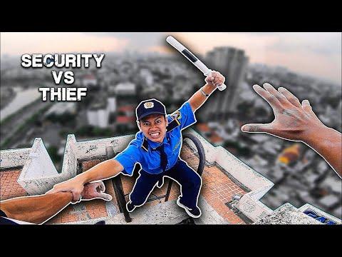 VIETNAM SECURITY PARKOUR vs THIEF | Bả