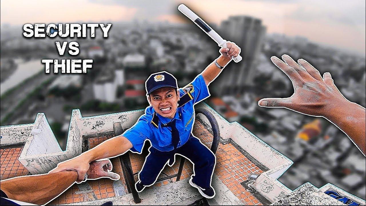 VIETNAM SECURITY PARKOUR vs THIEF | Bảo vệ bắt cướp
