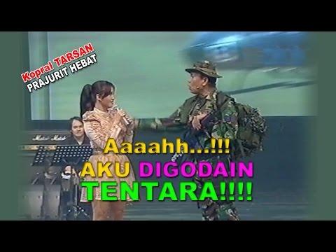 Kok Berani Tentara Godain Cewek Cantik!!!??? | Lawak Tarsan Kamera Ria  19 Maret 2013