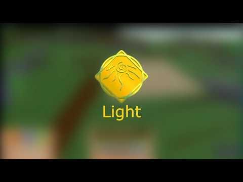 Light Showcase | Roblox Elemental Battlegrounds