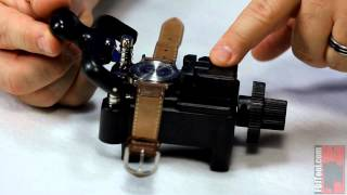 Using the Deluxe Snap Back Watch Case Opener
