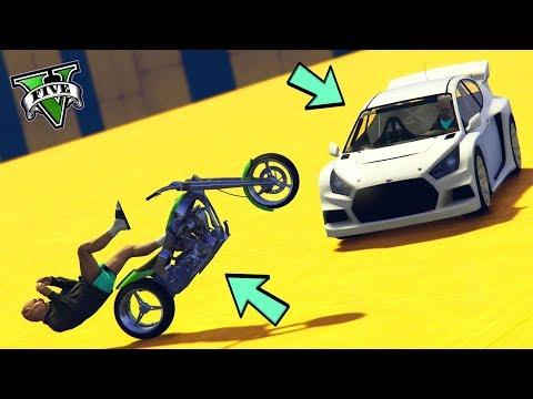 GTA 5 ONLINE 🐷 MOTO VS FLASH GT !!! 🐷 LTS 🐷N*308🐷 GTA 5 ITA 🐷 DAJE !!!!!!!