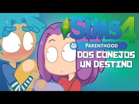 DOS CONEJOS UN DESTINO - SIMS 4 PAPÁS Y MAMÁS | #FNAFHS