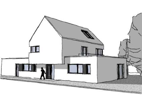 Architekten Spiekermann architekten spiekermann modernes flachdachhaus in warendorf