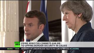 """May: """"UK and France remain committed to Le Touquet"""""""