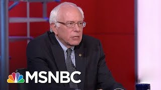 MSNBC QUICKLY Dodges Giving Bernie Sanders Credit for Amazon Minimum Wage Increase