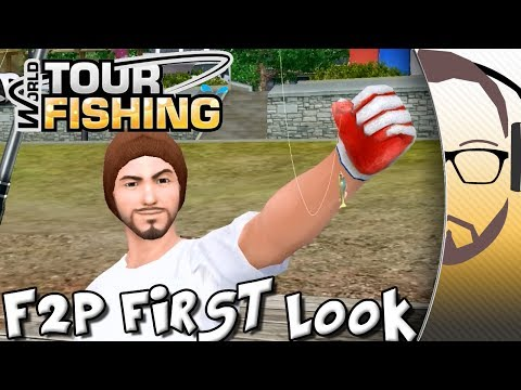 WTF World Tour Fishing - Fishing MMO - F2P First Look