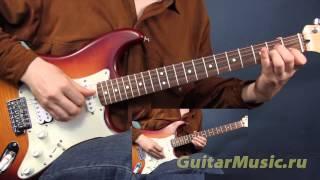 Постой паровоз - как играть в две гитары - аккорды и мелодия