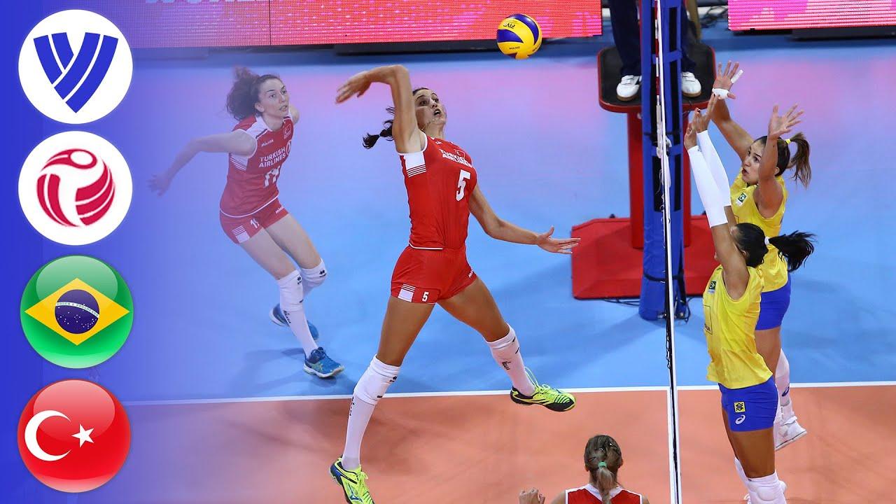 Brazil vs. Turkey - Full Match   Group 1   Women's Volleyball World Grand Prix 2017
