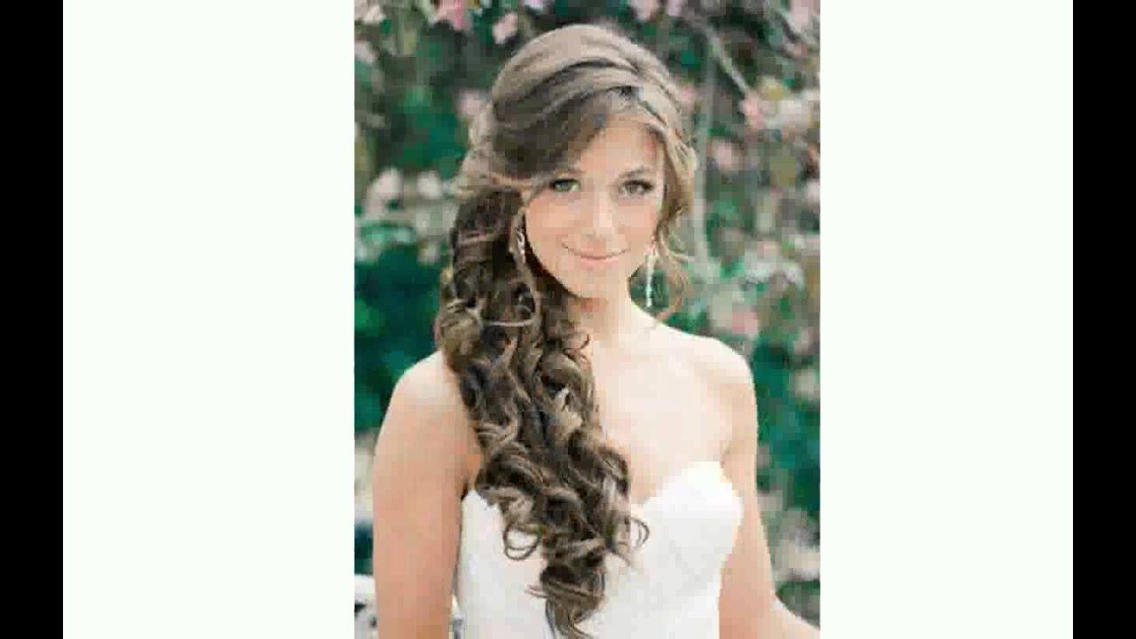 Свадебные Прически На Длинные Распущенные Волосы - YouTube