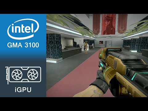 Red Faction 2 Gameplay Intel GMA 3100