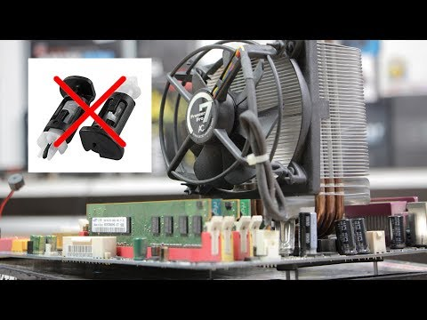 How To Easily Modify & Install An Intel LGA 775 Socket Cooler Without The Horrible Fragile Push Pins
