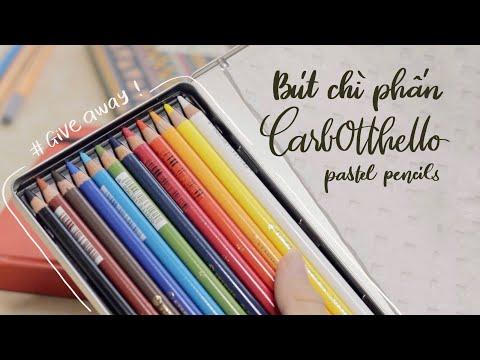 REVIEW Bút Chì Màu Phấn STABILO CARBOTHELLO   Happy Hidari