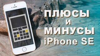 ПЛЮСЫ И МИНУСЫ - ОБЗОР iPhone SE